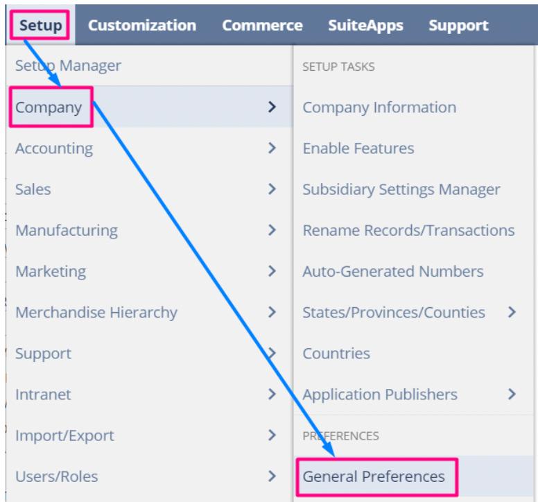 Setting Custom Auto Assign UPC Preferences